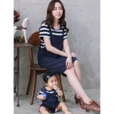 Nursing Set - Strap Dark Blue (plus baby romper)