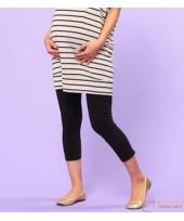 Maternity Legging - JP 7 Cotton Black