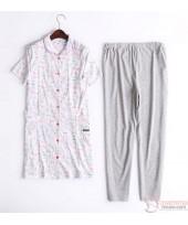 Mamma Pajamas - JP Cartoon Pink