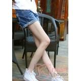 Maternity Shorts - Pocket Fold Jeans