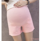 Maternity Shorts - Fold Simple Pink