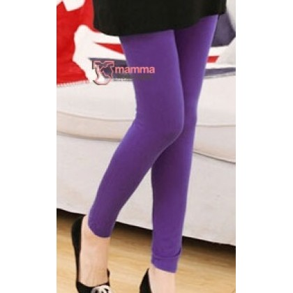 Maternity Legging - Long Support Purple