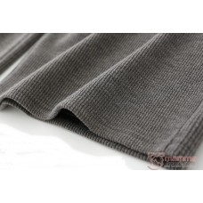 Maternity Pants - Working Cotton Wide Dark Grey