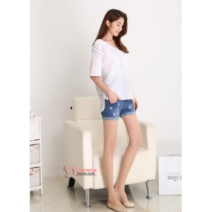 Maternity Shorts - Swan Jeans