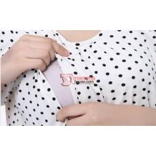 Nursing Tops - Polka Smooth (Pink or White)