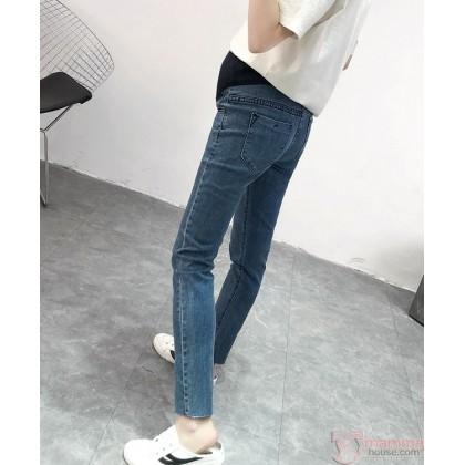 Maternity Jeans - Jazz Blue
