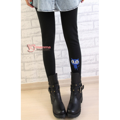 Maternity Legging - Cat Tail Black