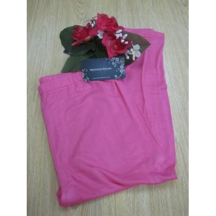 Maternity Capri Legging - Pink