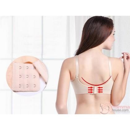 Nursing Bra - Seamless Hands Free 2pcs Set