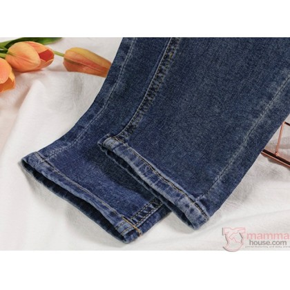 Maternity Jeans - Straight Casual Jeans