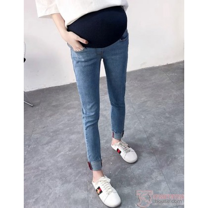Maternity Jeans - Slim Lilly Blue