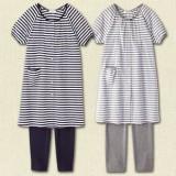 Mamma Pajamas - Dark Blue Stripe (1 set)