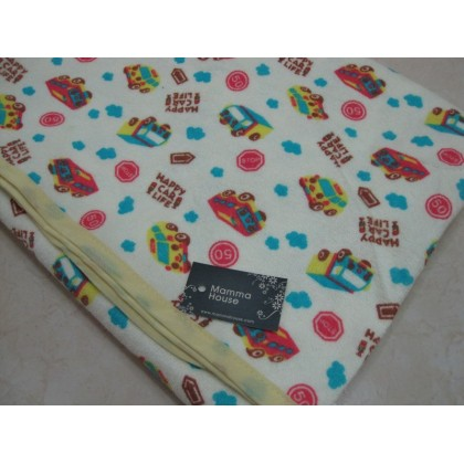 Baby waterproof mat - car (size M)