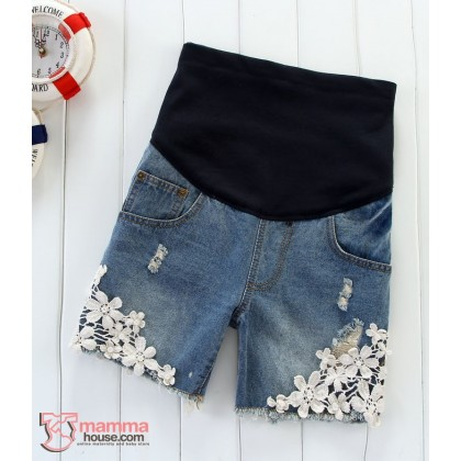 Maternity Shorts - Pearl Jeans (S-XL)
