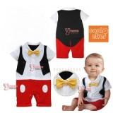 Baby Clothes - Romper Tuxedo