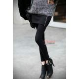 Long Legging - Zip Long Black or Dark,Light Grey