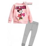 Baby Pajamas - Long Minnie Pink Heart (2-7yrs)