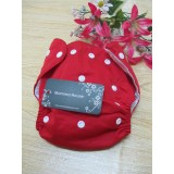 mammahouse diaper - red