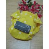 mammahouse diaper - yellow