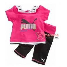 Baby Clothes - Puma Shine Pink