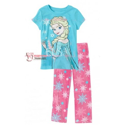 Baby Pajamas - Elsa Blue Castle 2-7yrs)