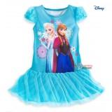 Baby Dress - Anna Elsa Yarn Blue Dress