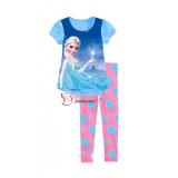Baby Pajamas - Anna Elsa Myth Blue Short