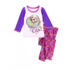 Baby Pajamas - 2 pcs Long Elsa Pink Purple